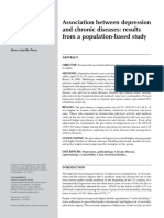 Association Between Depression and Chronic Diseases Results Form a Population-based Study - Boing