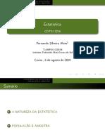 Aula 01 - 3216 - Estatística