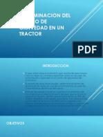 Determinacion Del Centro de Gravedad en Un Tractor