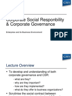 Chapter 12 CSR and Corporate Governance