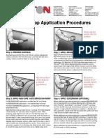 procedimiento de wax tape
