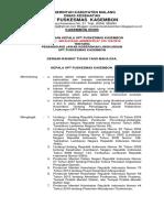2.6.1.6 Sk Penanggung Jawab Kebersihan Lingkungan Puskesmas 2019