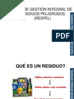 Presentacion Capacitacion Manejo de Residuos