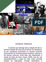 16 - Modernismo 2ª Fase Poesia Atd 2015