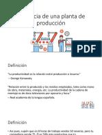 2-Eficiencia Planta de Producción