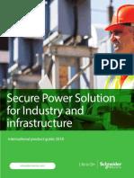 SCHNEIDER ELECTRIC- Industrial Solution International Guide-2018