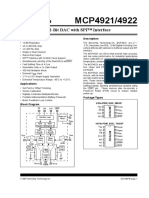 4922 12-Bit DAC With SPI Interface - 21897b