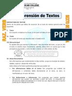 Ejercicios de Comprensión de Textos Para Sexto de Primaria