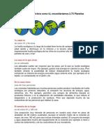 Medidas y Acciones Para Eliminar Huella Ecologica
