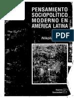 WERZ Nikolaus Pensamiento Sociopolítico Moderno en América Latina