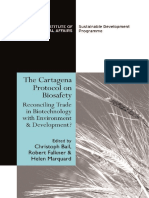 The Cartagena Protocol Biosafety