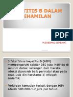 336213339 Hepatitis b Dalam Kehamilan Ppt