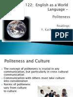 13 Ling 122 9 Politeness