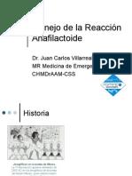 Manejo de la Reacción Anafilactoide