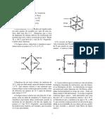 Lista de exercícios de circuito elétrico