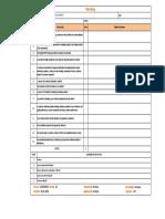Internal Audit Checklist - Marketing