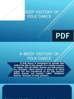 A Brief History of Folk Dance