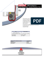 AMB-45 Insulation Resistance Tester-597604