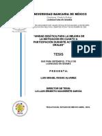 Miguel Rosas Unidad Didáctica Para La Mejora de La Motivación en Cuanto a Participación Durante Actividades Orales