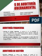 Tipos de Auditoría Gubernamental