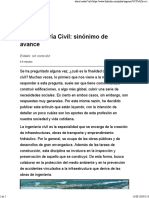 Ingeniería Civil_ Sinónimo de Avance
