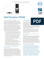 Dell Precision t3500 Spec Sheet Es Xl Hr