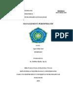 REFERAT Management Perioperatif