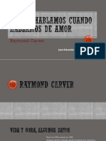 De Qué Hablamos Cuando Hablamos de Amor - Raymond Carver