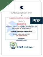 INTERNSHIP REPORT OF BAJAJ AUTO LTD..docx