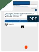 Como Usar El Comando Ping en Conexiones de Redes [Ejemplos Prácticos] - Underc0de - Hacking y Segurid