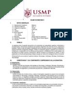 Silabo de Medicina II - 2019 Usmp Ok