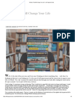 4 Books That Will Change Your Life - Life Happens Dude