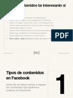 15 eBook - Los Contenidos Más Efectivos en Facebook - II Edición
