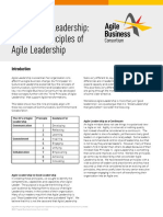 Agile Leadership Principles 1-9