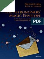 [Saha, P.; Taylor, P.] the Astronomers' Magic Envelope