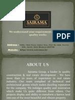 2 Bhk and 3 Bhk Flats at New Panvel | SAIRAMA ONE WORLD AT NEW PANVEL