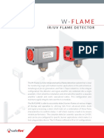 W FLAME Detector GP Spec Sheet V3