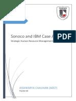 Sonoco and IBM Case Analysis