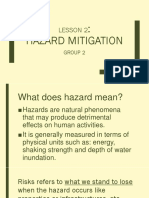 Hazard and Mitigation