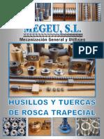 MEGEU Catalogo de Husillos y Tuercas Industriales