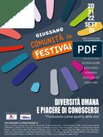 01_giussano Comunita' in Festival_programma