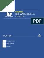 01.Guidance SOP Warehouse & Logistik