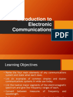 Introduction to Electronic Communications