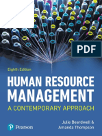 Julie Beardwell, Amanda Thompson - Human Resource Management _ a Contemporary Approach-Pearson Education (2017)
