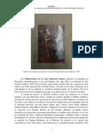 Publicaciones de La Casa Editorial Araluce Semblanza