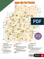 El mapa de la Festa Major de Gràcia