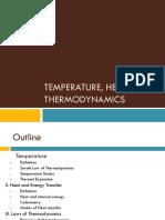 Temperature, Heat, and Thermodynamics