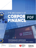 Distance Learning Corporate Finance