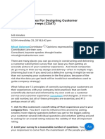 13 Best Practices for Designing Customer Satisfaction Surveys (CSAT)