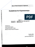 Guidelines for Expressways Part-II